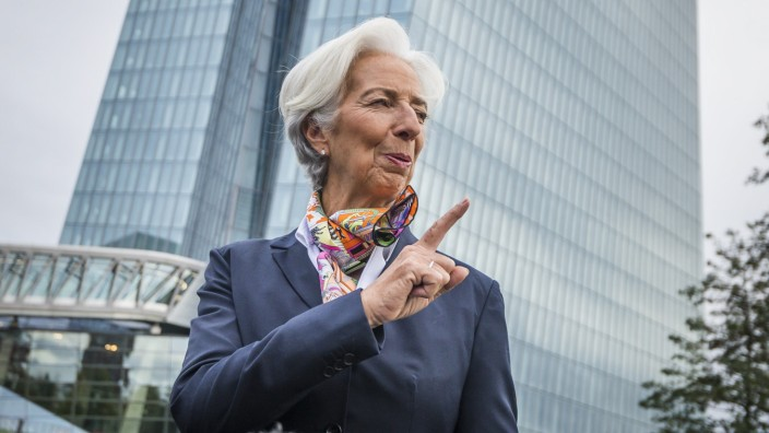 ***BESTPIX*** Christine Lagarde Begins Work As New ECB President