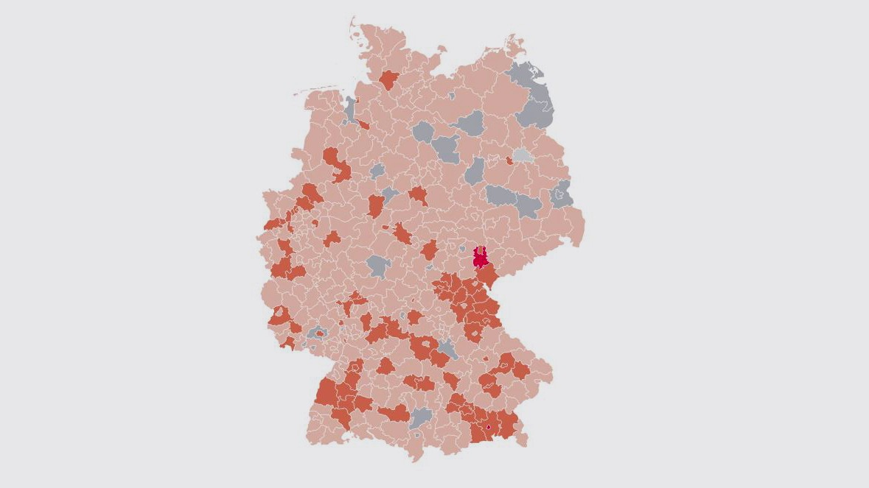 Coronavirus In Deutschland Die Hotspots Im Uberblick Politik Sz De