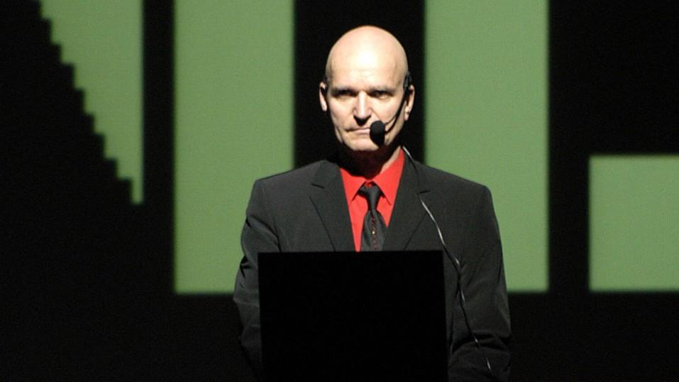 Florian Schneider-Esleben co-fondateur du groupe Kraftwerk.