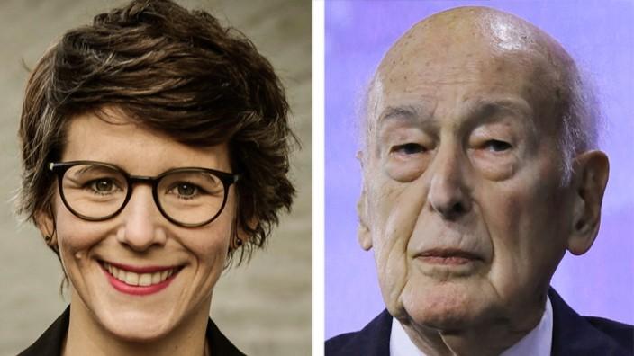Es tue ihm sehr leid, wenn die Vorwürfe von Ann-Kathrin Stracke (l.) stimmen würden, ließ Giscard d'Estaing, 94, ausrichten, aber er könne sich an nichts erinnern.