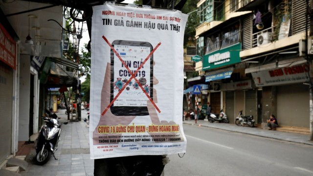 Coronavirus: Kampf gegen Fake News in Hanoi