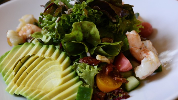 "Salat im ""Cucina Corleone"" in München, 2019"