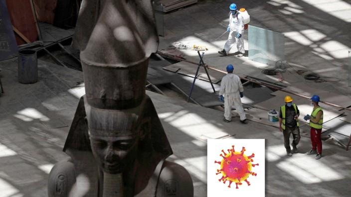 Serie Welt im Fieber - Coronavirus disease (COVID-19) outbreak in Cairo