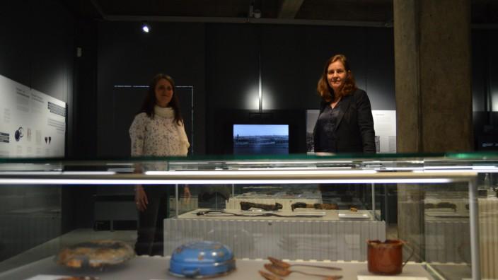 """Ausstellung """"Zeitspuren"""" in Allach"""