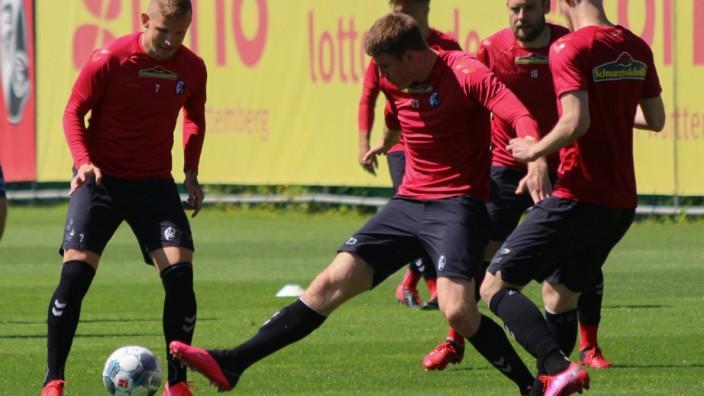 Trainingsauftakt SC Freiburg