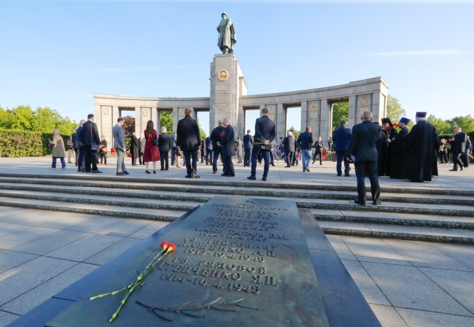 Events commemorating the end of World War Two in Berlin