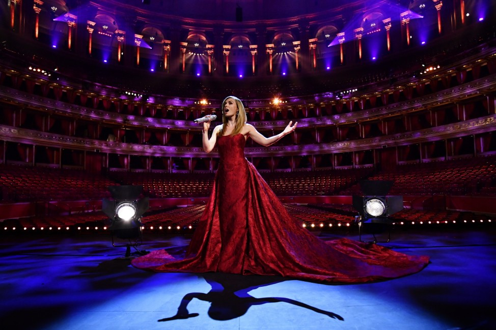 BESTPIX - Katherine Jenkins VE Day 75 Performance At The Royal Albert Hall
