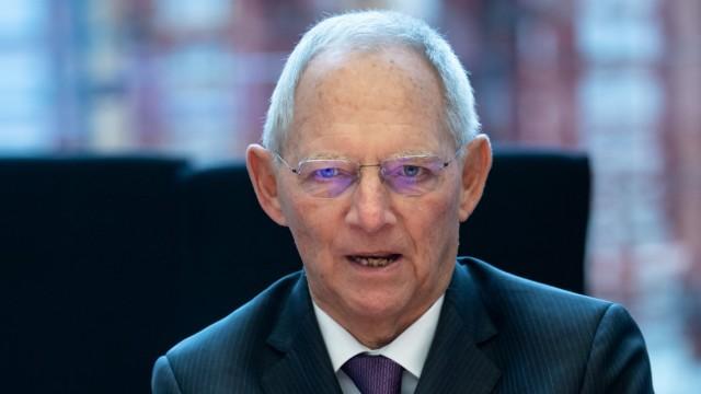 Schäuble: Staat kann in der Krise nicht für alles aufkommen