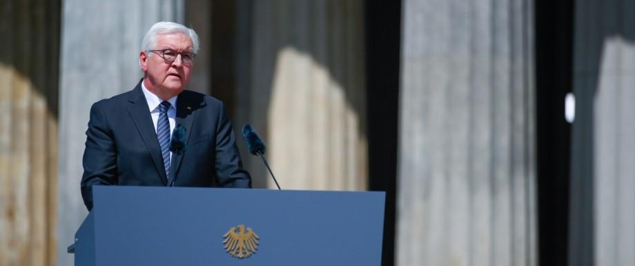 75 Jahre Kriegsende: Bundespräsident Frank-Walter Steinmeier bei seiner Rede
