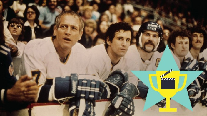 Scene With Paul Newman & Michael Ontkean Characters: WITH Reggie Reg Dunlop & Ned Braden Film: Slap Shot (USA 1970) Dire