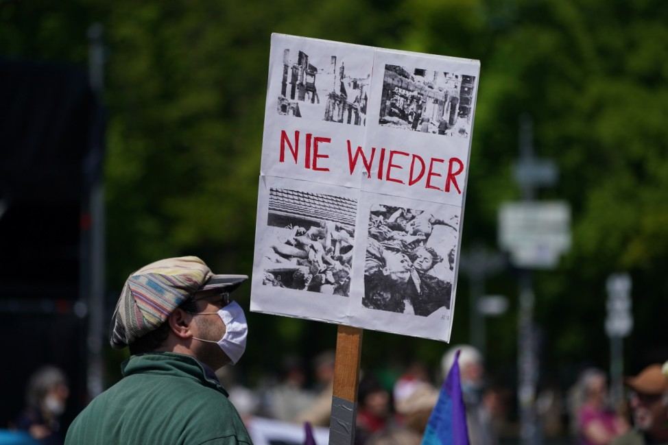 End Of World War II Commemorations Take Place In Berlin During The Coronavirus Crisis