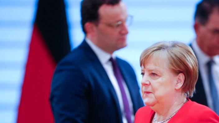 Bundeskabinett tagt in Berlin