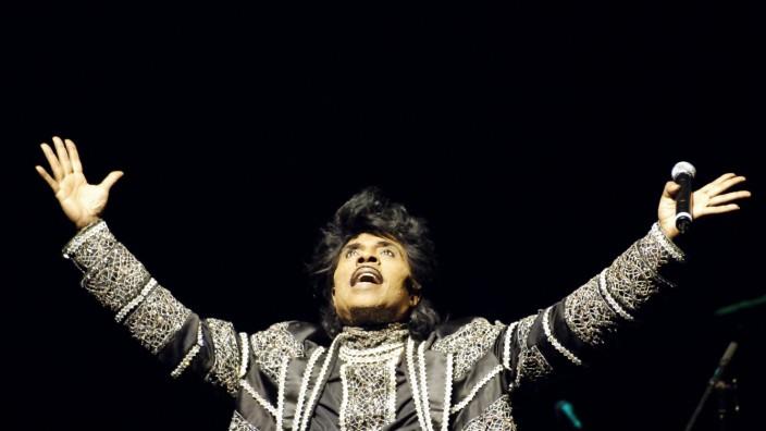 Pop: Little Richard im Jahr 2005 in Paris