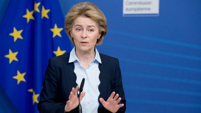 Von der Leyen vor Jahrestag: EU muss krisenfester werden