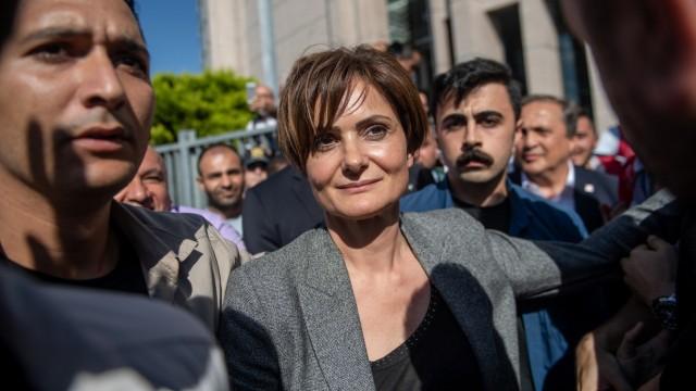Türkei: Wird bedroht: Die Oppositionspolitikerin Canan Kaftancıoğlu.