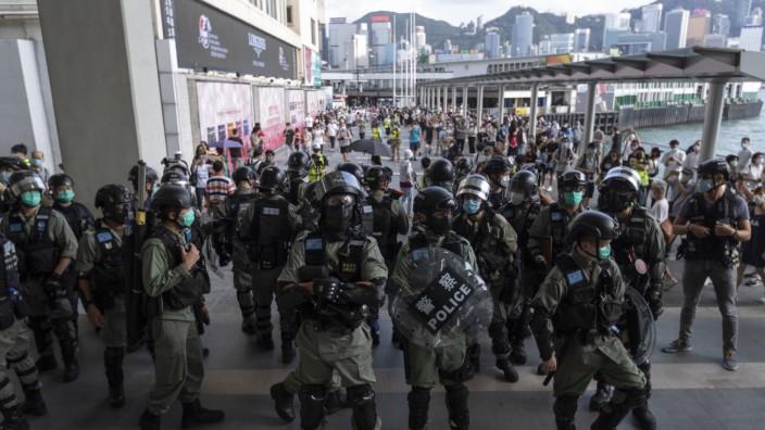 Coronavirus - Proteste in Hongkong