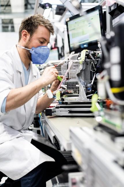 Beatmungsgeräte-Hersteller Dräger