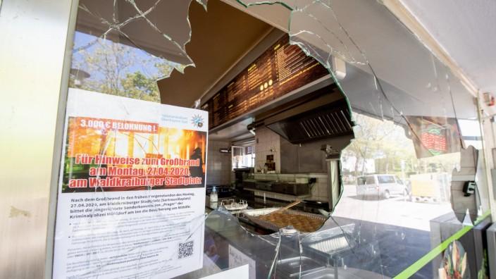 Attacke gegen türkischen Imbiss in Waldkraiburg