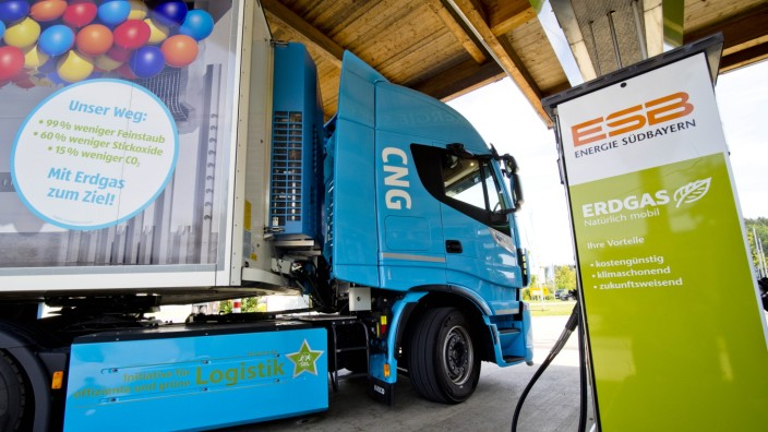 Aldi CNG - Erdgas LKW