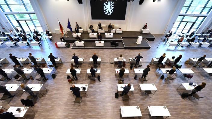 Coronavirus - Thüringer Landtag - Regierungserklärung