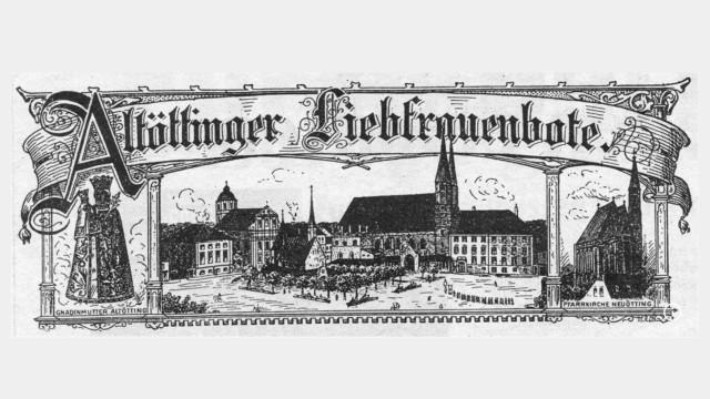 """Das Altöttinger Gnadenbild, der Kapellplatz, die Neuöttinger Pfarrkirche â€"""" der erste Titel zeigte die Verbundenheit zum Gnadenort."""