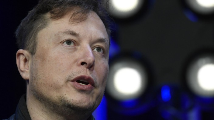 Tesla-Chef Elon Musk 2020 in Washington