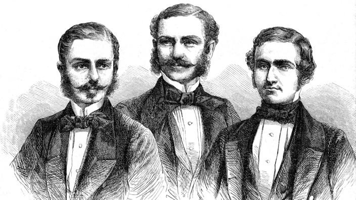 Brothers Schlagintweit explorers Tibet Turkestan North & West Himalaya India Karakorum Robert 1833