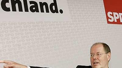 SPD: Peer Steinbrück: Peer Steinbrück: Wie werden die Geschichtsschreiber ihn, Steinbrück, einmal beurteilen?