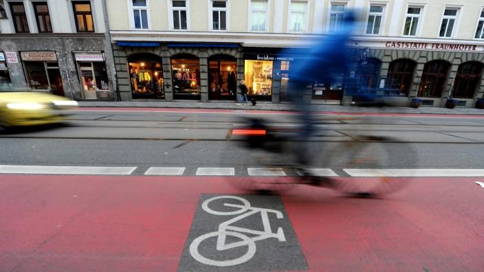 Fraunhoferstraße in München, 2020