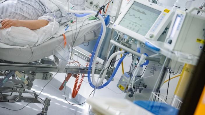 Intensivstation im Klinikum Großhadern.