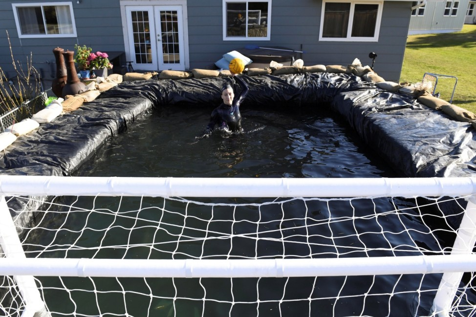 Water Polo: Water Polo Athlete Continues Training