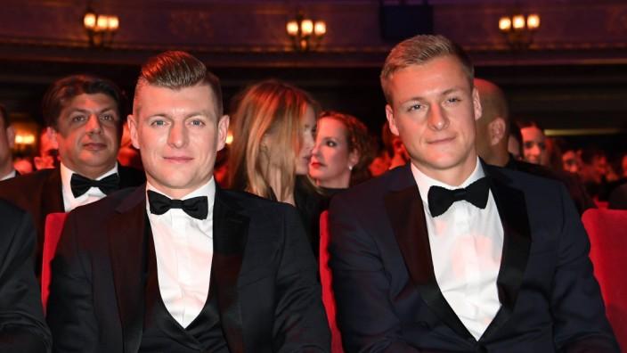 Toni und Felix Kroos