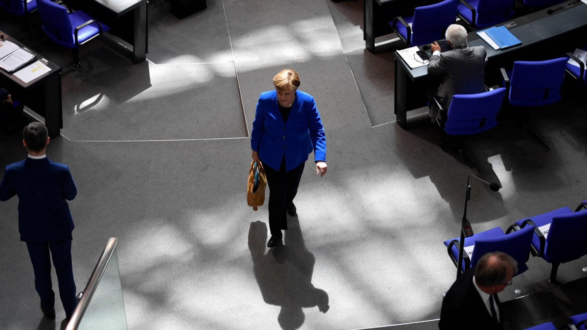 CDU: Kandidaten im Schatten der Kanzlerin