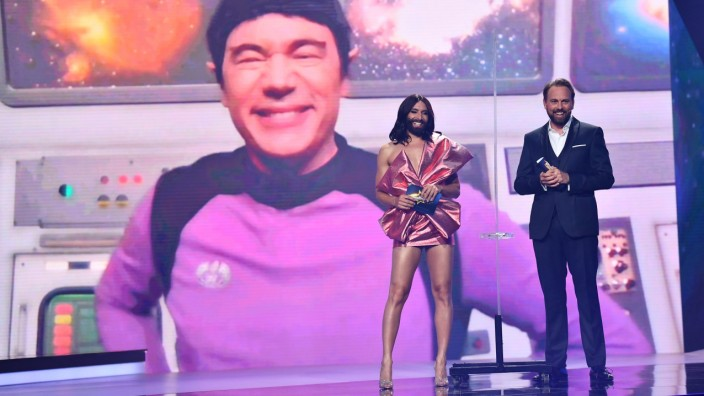 "ProSieben-Show ´Free European Song Contest"""