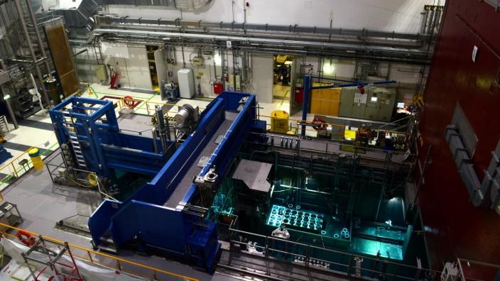 Forschungs-Neutronenquelle FRM II der TU München in Garching, 2019