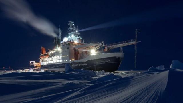 Eisbrecher 'Polarstern'