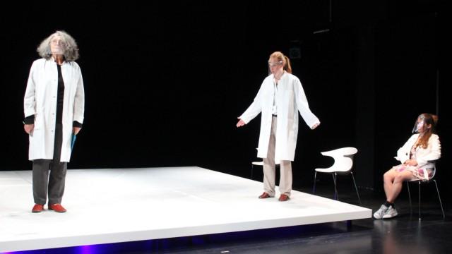 Kunst und Corona: Proben am Wolfgang-Borchert-Theater in Münster.