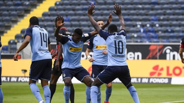 Fussball 1.Bundesliga, Eintracht Frankfurt - Borussia Moenchengladbach 16.05.2020, xjhx, Fussball 1.Bundesliga, 26.Spie