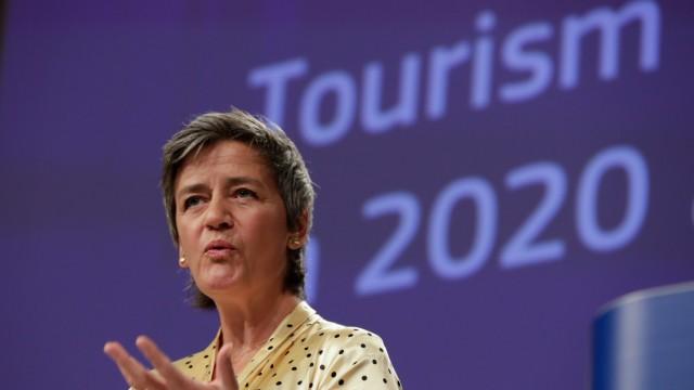 EU-Wettbewerbspolitik: Margrethe Vestager befürchtet, dass die großen Unterschiede bei Corona-Staatshilfen den Wettbewerb verzerren.
