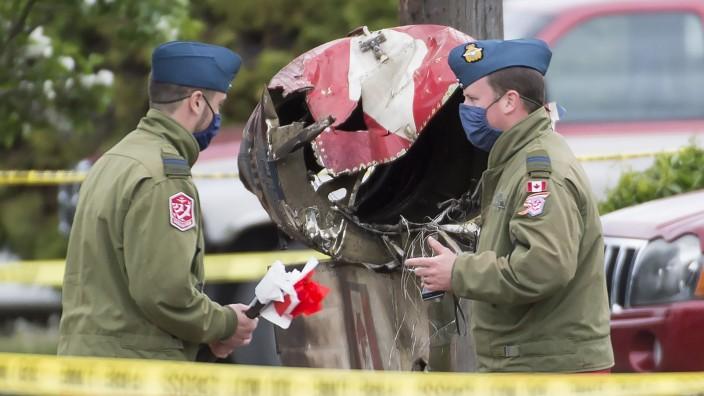 Absturz von Jet der kanadischen Air Force