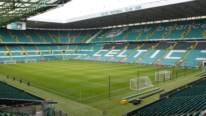 20th May 2018 Celtic Park Glasgow Scotland Scott Brown Testimonial Celtic XI versus Republic of; Celtic