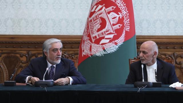 Afghanistan: Präsident Ghani und Abdullah Abdullah vereinbaren Machtteilung