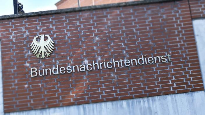 BND Gardesch¸tzenweg Lichterfelde Steglitz Zehlendorf Berlin Deutschland *** BND Gardesch¸tzen