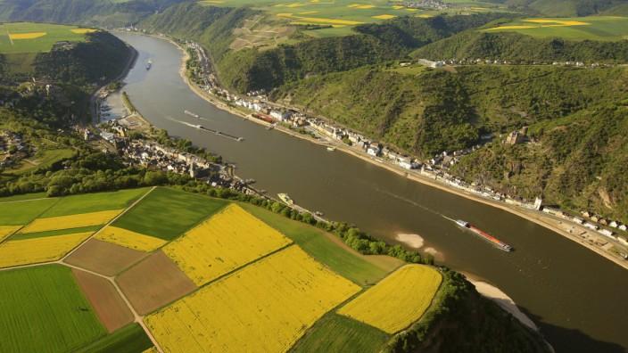 Der Rhein bei Sankt Goar