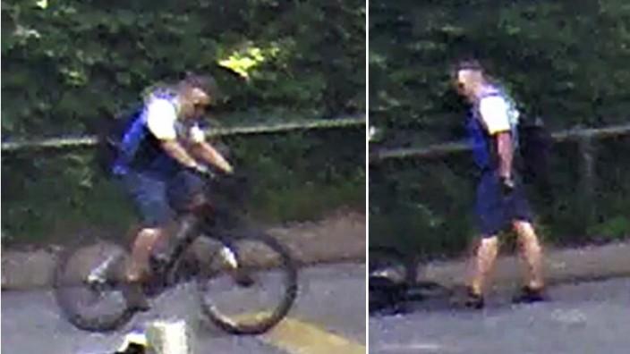 Polizei München: Fahndungsbilder. Öffentlichkeitsfahndung nach Verkehrsunfall zwischen zwei Radfahrern; ein Radfahrer stirbt und der andere entfernt sich vom Unfallort - Au