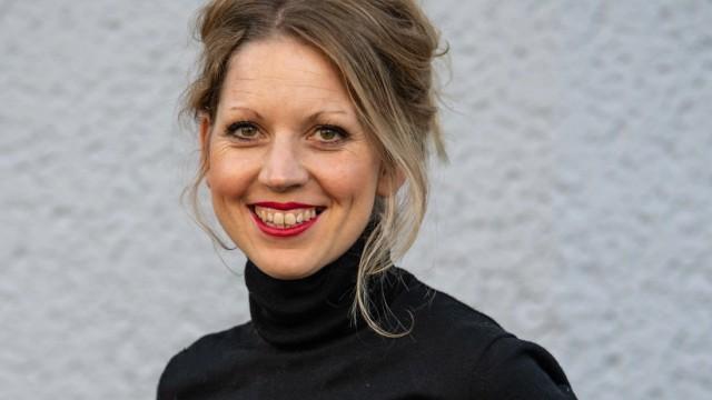 Sarah Hallmann, Betreiberin von dem Resaturant Hallmann und Klee am Böhmischen Platz in Rixdorf, Neukölln Berlin Berlin
