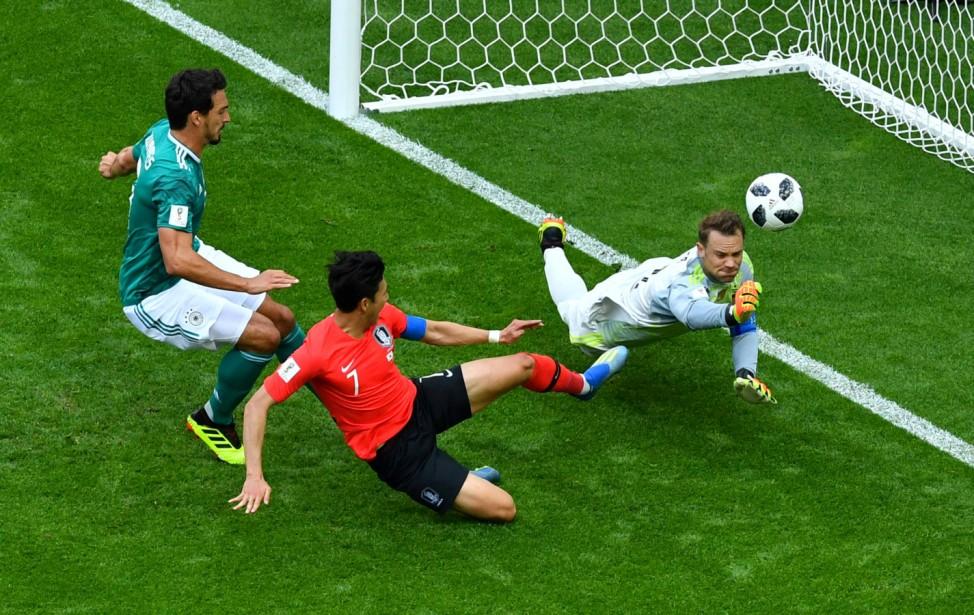 World Cup - Group F - South Korea vs Germany