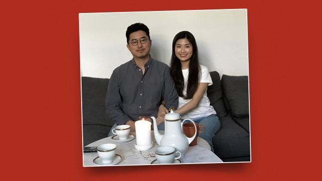 Rassismus: Die Sopranistin Hyuneum Kim - hier mit ihrem Ehemann Sejin Lee - liebt Händel, Bach, Beethoven, deshalb kam sie vor fünf Jahren nach Berlin.