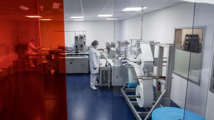 Coronavirus - Autozulieferer etabliert Maskenproduktion