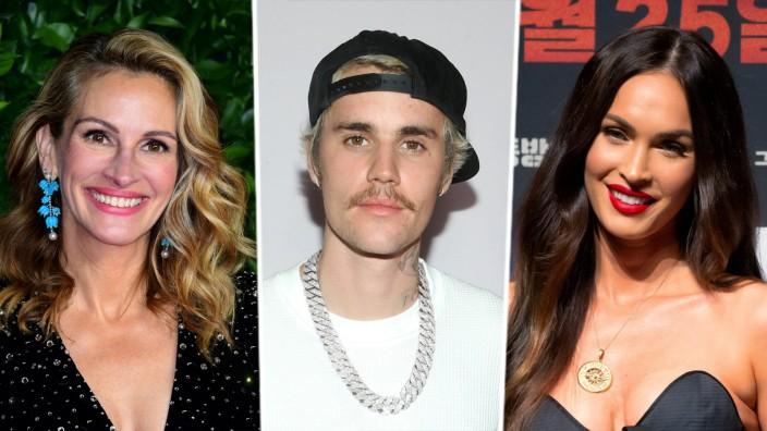 Promis der Woche - Julia Roberts, Justin Bieber, Megan Fox